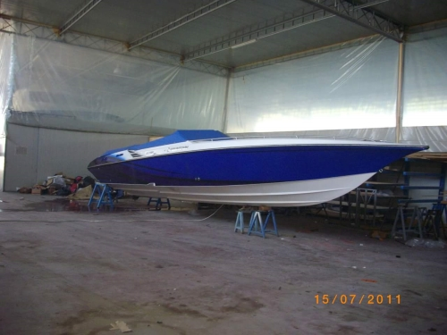 FOUNTAIN POWERBOAT FOUNTAIN EXECUTIONER 35